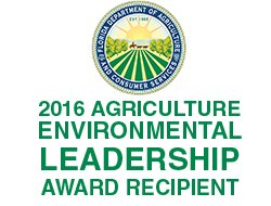 Environmental Leadership award